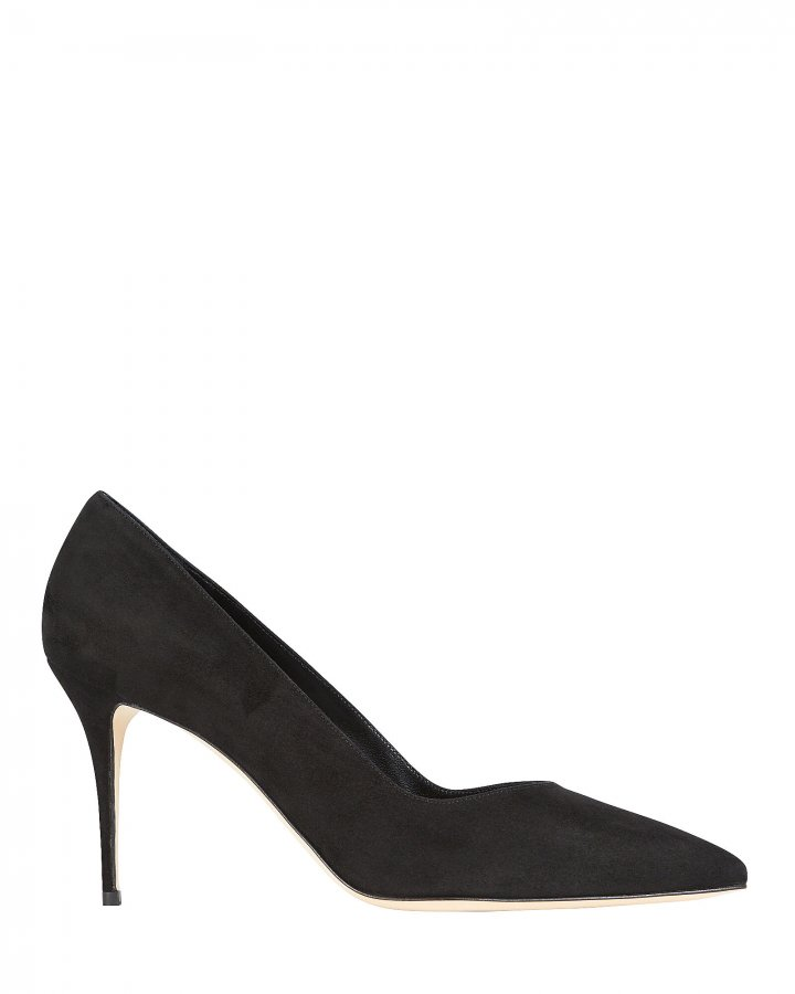 Eris 90 Suede Pumps