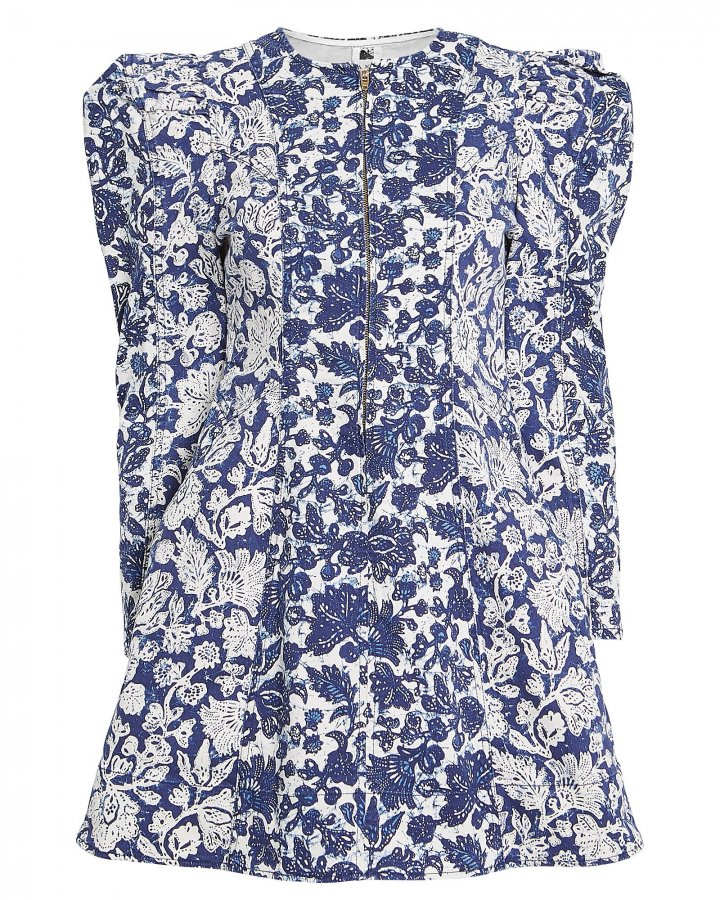 Wren Floral Denim Mini Dress
