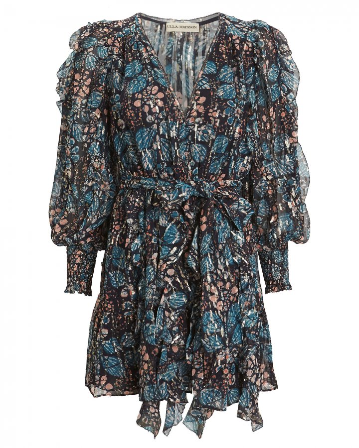 Natalia Silk Georgette Floral Dress
