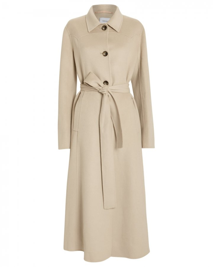 Sira Belted Double Wool Coat