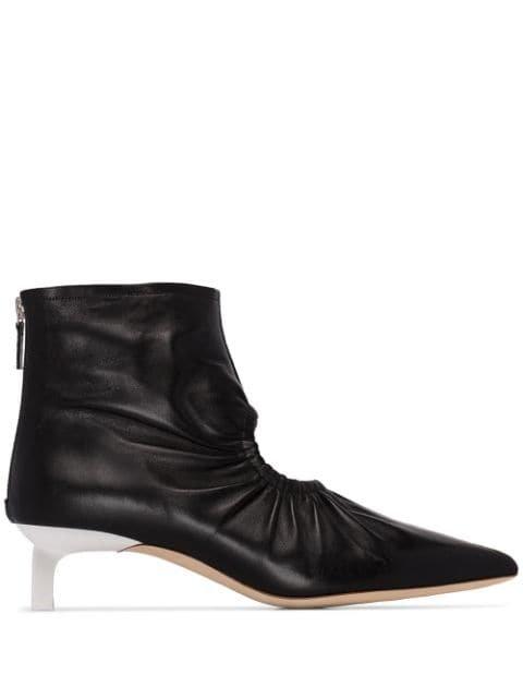 Rejina Pyo Camila cut-out Ankle Boots - Farfetch