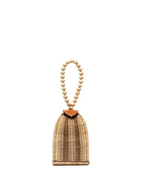Ulla Johnson Raya Woven Bracelet Bag - Farfetch