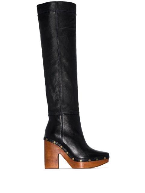 Jacquemus 70mm Clog Boots - Farfetch