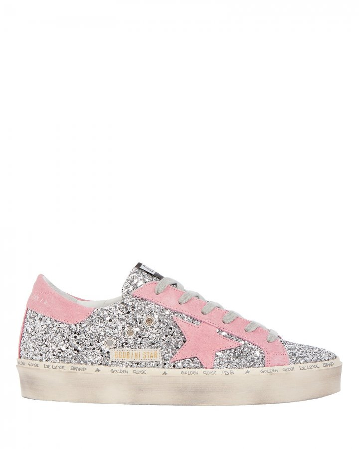 Hi Star Glitter Low-Top Sneakers