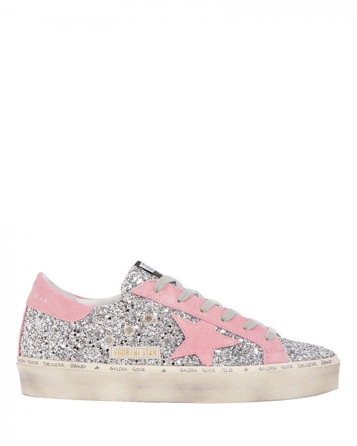 Hi Star Glitter Low-Top Sneakers