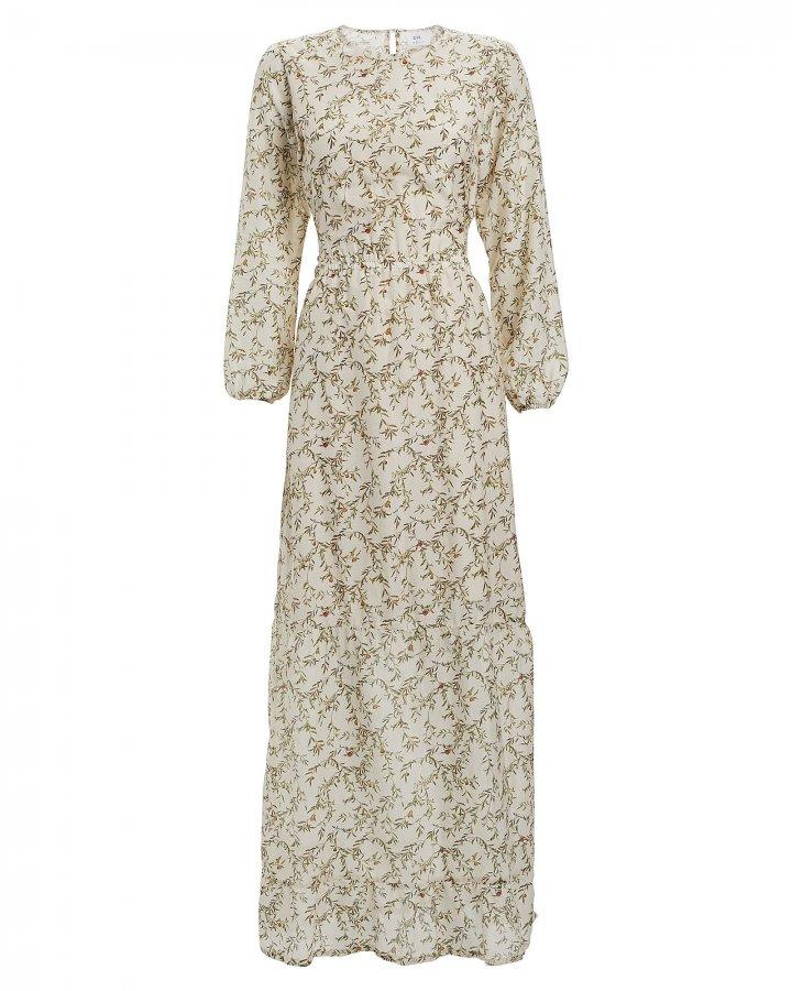 Annalie Floral Cut-Out Midi Dress