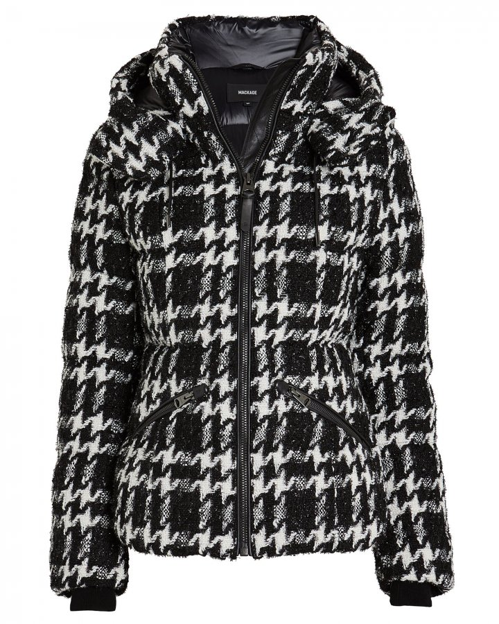 Madalyn Tweed Puffer Jacket