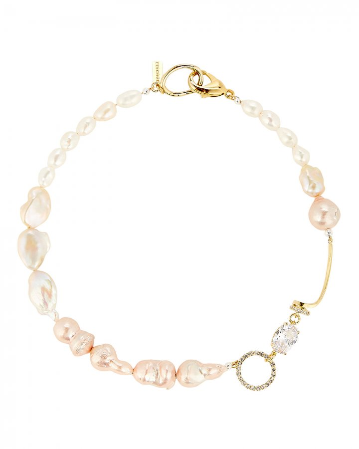 Cardiff Pearl Collar Necklace