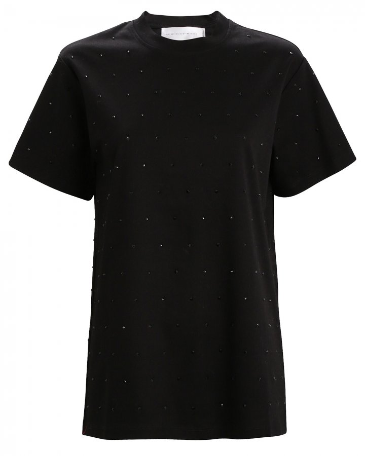 Crystal Embellished T-Shirt
