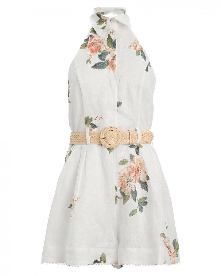 Kirra Floral Linen Playsuit