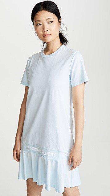 OC Elastic Logo T-Shirt Dress