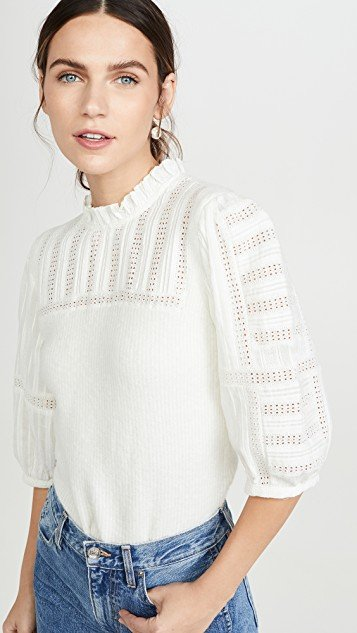 Pascale Combo Sleeve Sweater