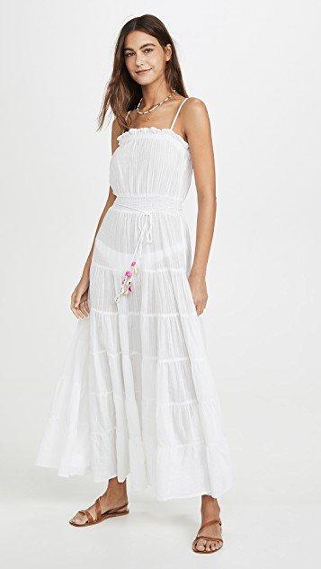 Sleeveless Cover Up Dress