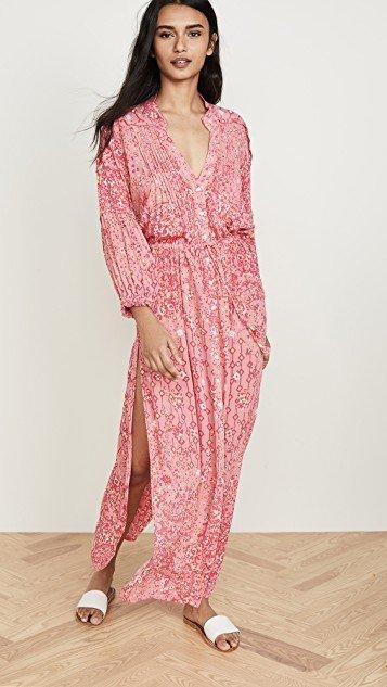 Ilona Long Sleeve Maxi Dress
