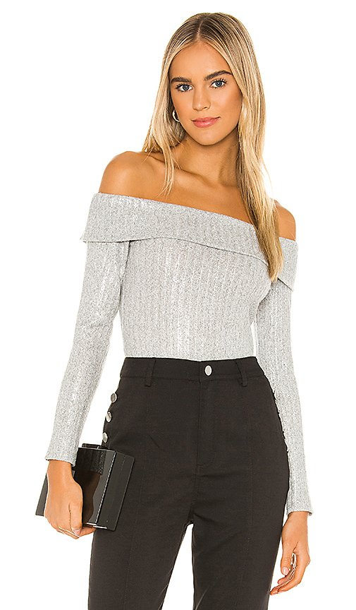 Off The Shoulder Knit Top