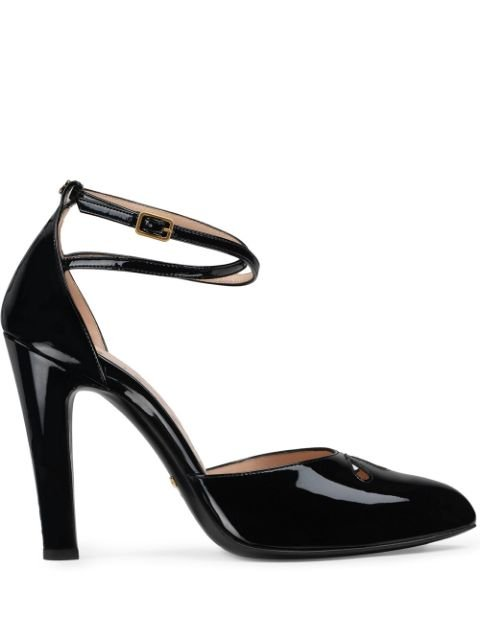 Gucci Cut Out 105mm Pumps - Farfetch