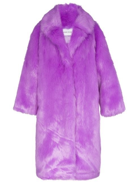 Stand Studio Oversized Clara Faux Fur Coat - Farfetch