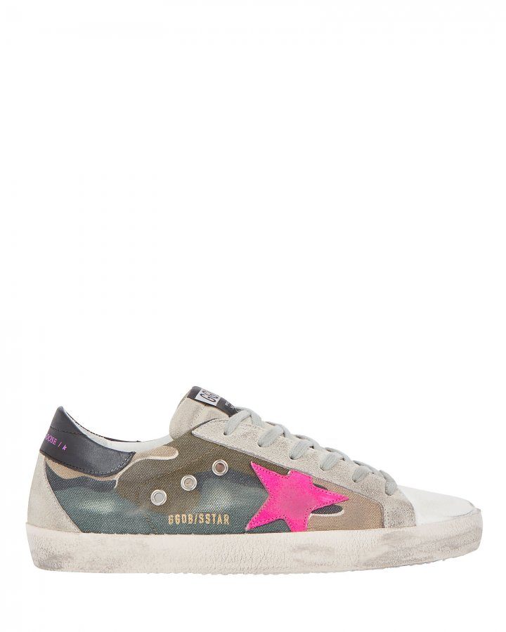 Superstar Camouflage Canvas Sneakers