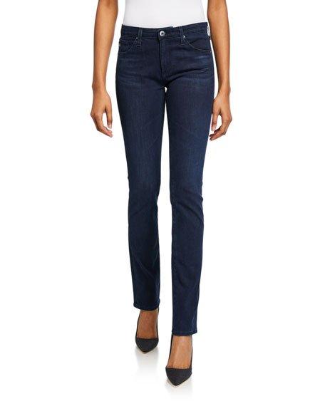 Harper Essential Straight-Leg Jeans