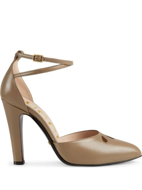 Gucci Teardrop cut-out Pumps - Farfetch