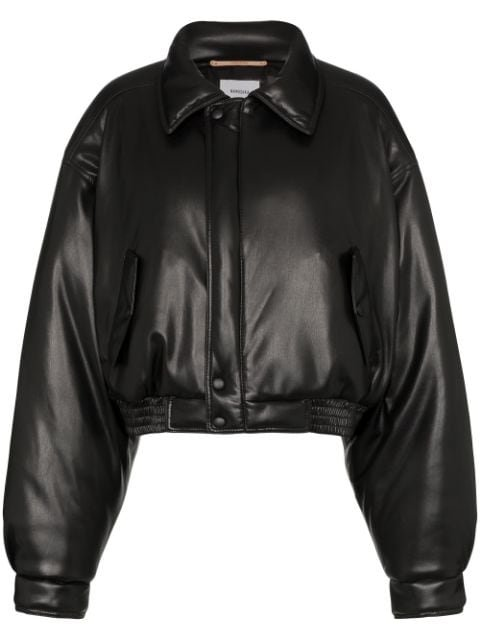 Nanushka Short Bomber Jacket  - Farfetch