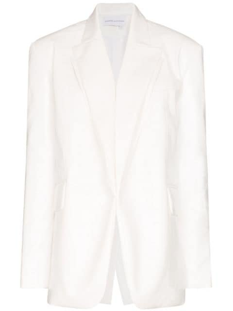 Aleksandre Akhalkatsishvili Double Layered Lapel Blazer - Farfetch