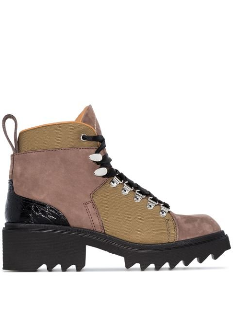 Chloé Hiking 50mm Ankle Boots - Farfetch