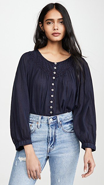 Cool Meadow Button Down