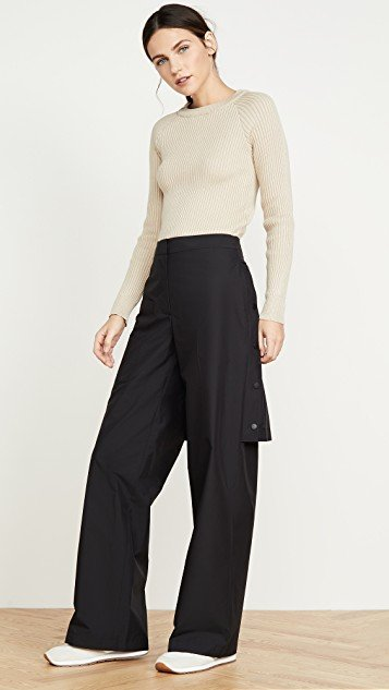 Trousers with Detachable Skirt