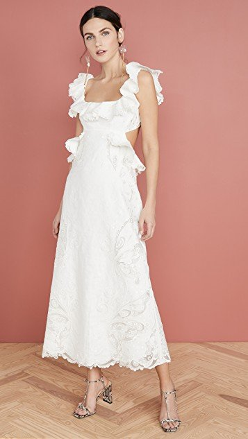 Super Eight Embroidered Dress