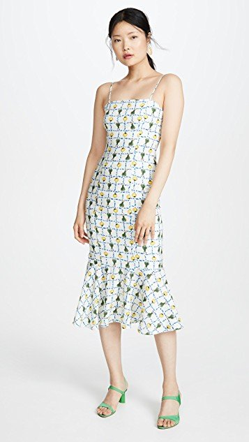 Lychee Linen Dress