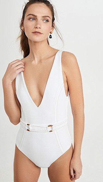 Kaia Deep V One Piece