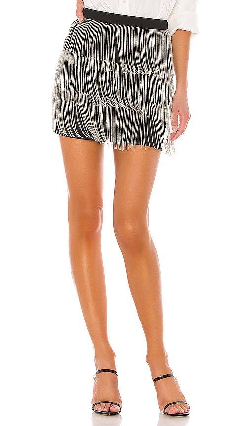 Janelle Fringe Skirt