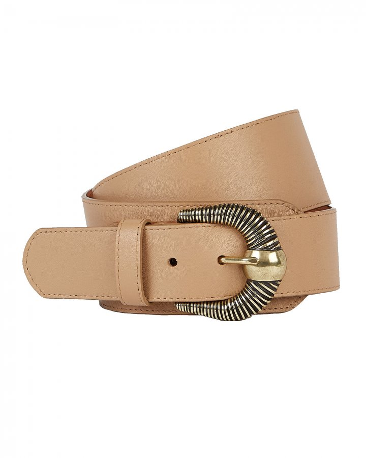 Western Leather Corset Belt