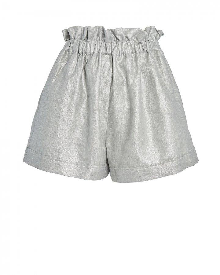 Operato Metallic Linen Shorts