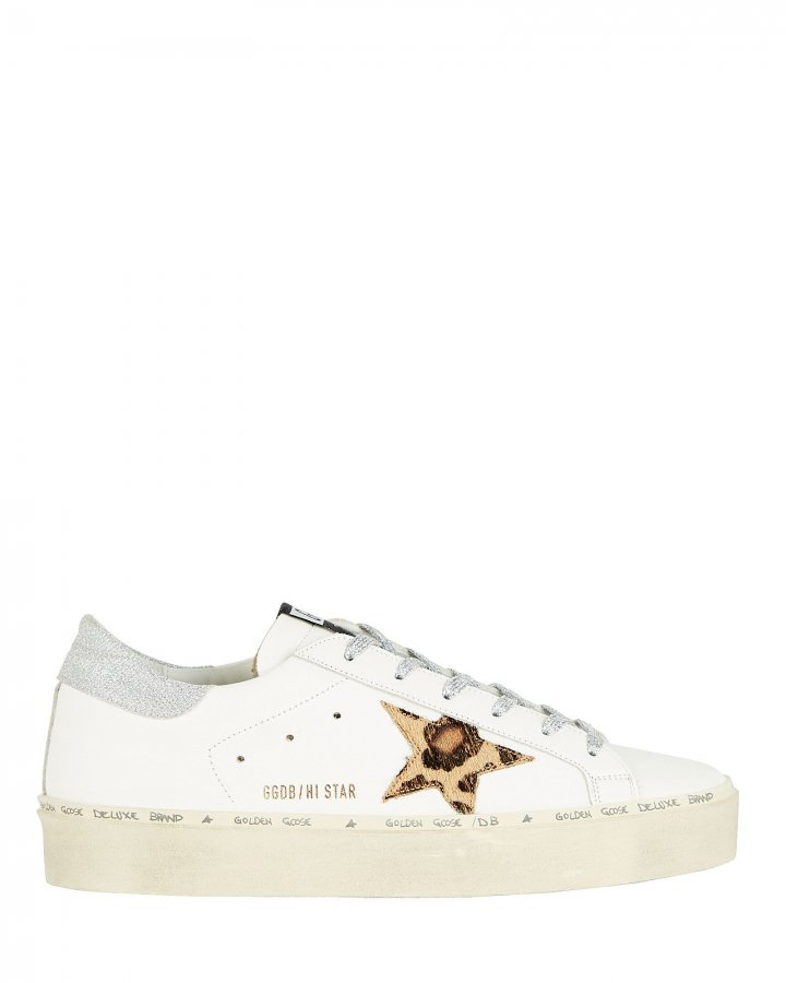 Superstar Lurex-Trimmed Low-Top Sneakers