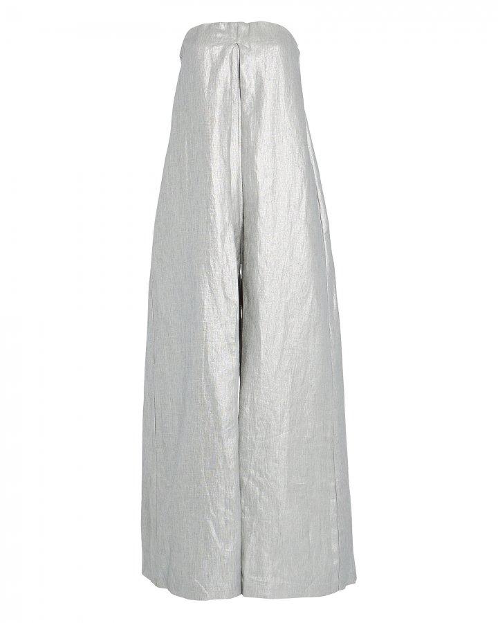 Operato Strapless Linen Jumpsuit
