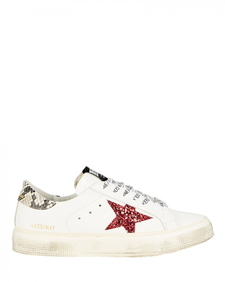 May Glitter Star Low-Top Sneakers