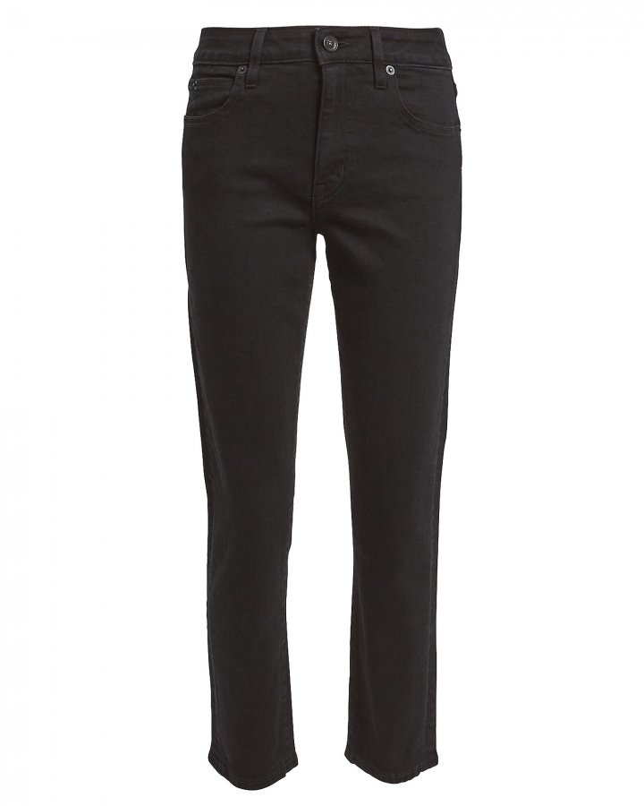 Lou Lou Ankle-Cropped Jeans