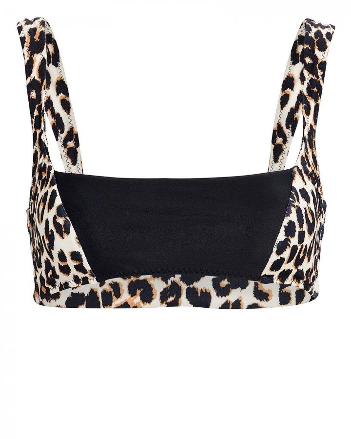 The Divine Cheetah Bikini Top