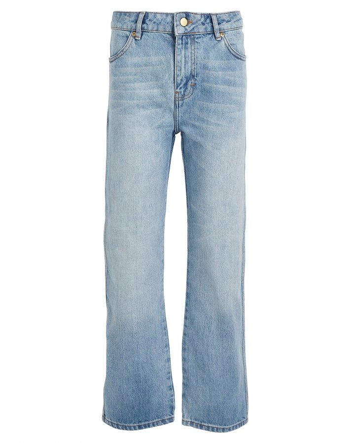 Cali High-Rise Straight-Leg Jeans