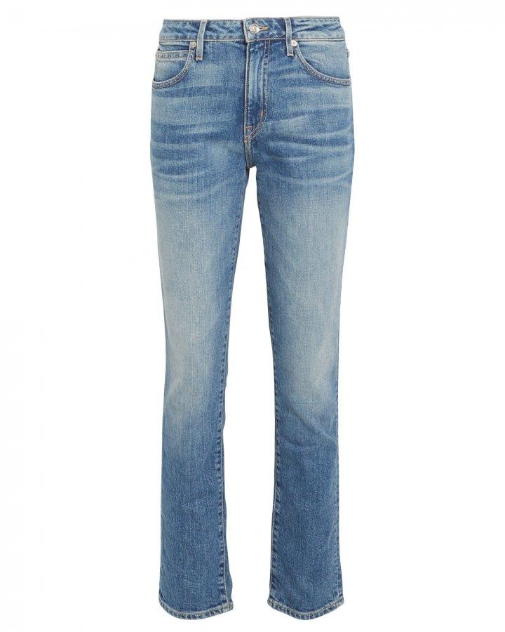 Leila Slim Straight-Leg Jeans