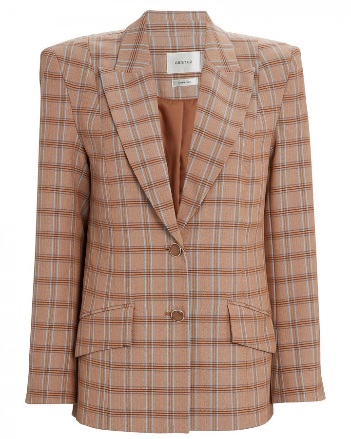 Jin Plaid Blazer