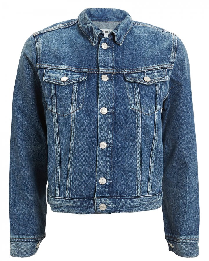Vivian Shrunken Denim Jacket