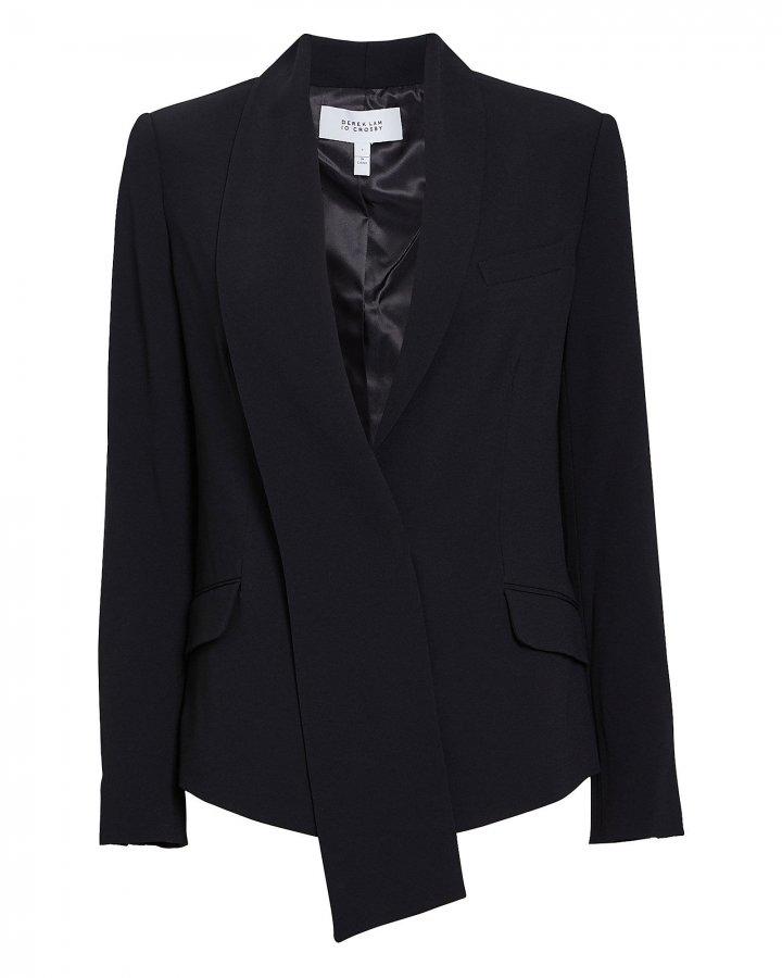 Telma Asymmetrical Shawl Collar Blazer