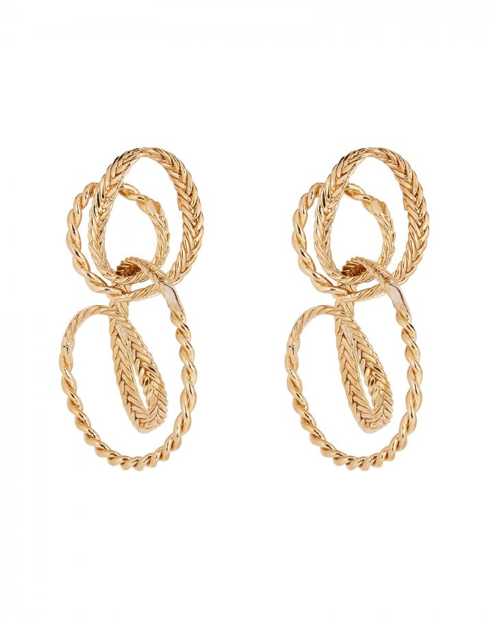 Ayse Braided Drop Earrings
