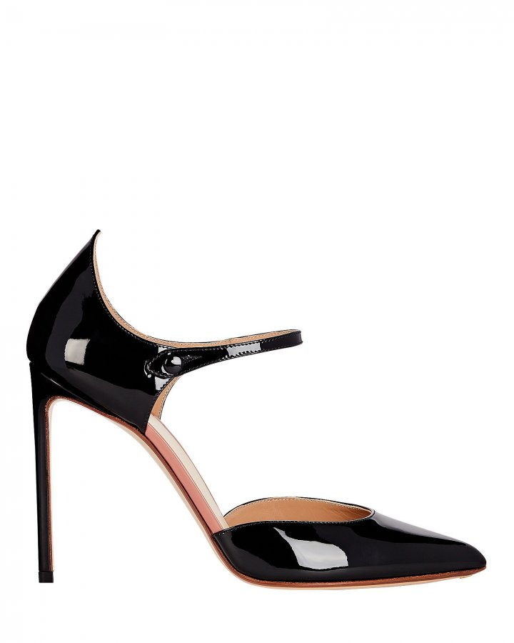 Point Back Mary Jane Pumps