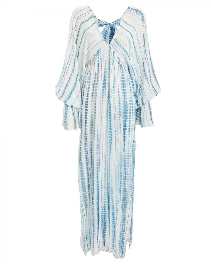 Esme Striped V-Neck Kaftan