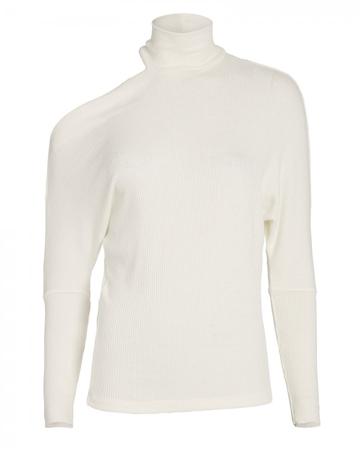 Hearther Cut-Out Ribbed Top