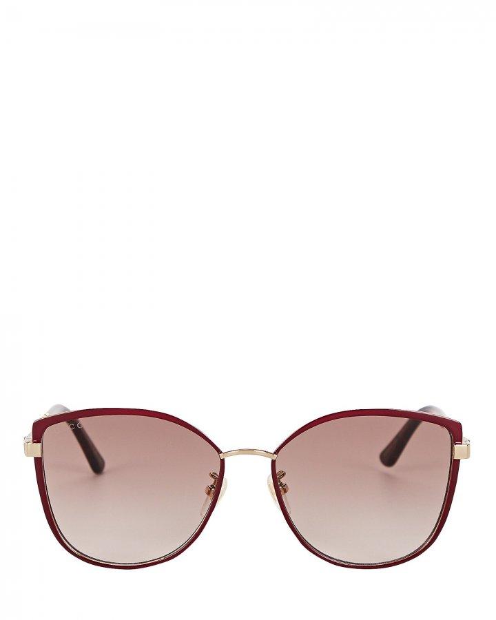Oversized Rounded Cat Eye Sunglasses